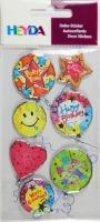 Heyda Sticker Geburtstag 2