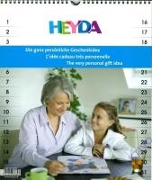 Kreativkalender Enkel 29,7 x 35 cm weiß