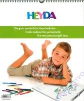 Kreativkalender Kinder 29,7 x 35 cm weiß