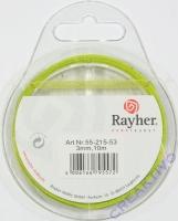 Rayher Organzaband 3mm 10m anisgrün