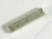 Silberröhrchen quadratisch 15x3x3mm