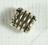Silberröhrchen antik 5mm