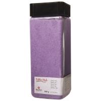 Sand, fein, lavendel, 0,1-0,3mm, Dose 820g (Restbestand)
