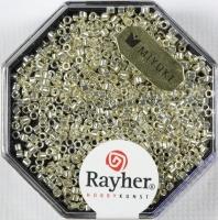 Delica Rocailles 1,6mm metallic silber