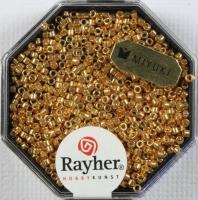 Delica Rocailles 1,6mm metallic gold