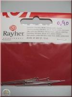 Rayher Kettelstifte 35/0,6mm 15St. platin