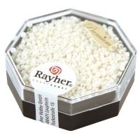 Delica Rocailles 1,6mm opak matt weiß