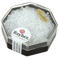 Delica Rocailles 1,6mm transparent Rainbow mondstein