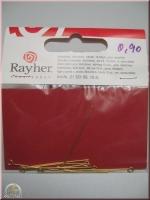 Rayher Kettelstifte 35/0,6mm 10St. gold