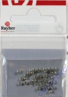 Rayher Quetschperlen 1,8/2,5mm 35St. silber