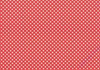 Vario-Karton 300g/qm 50x70cm Weiß/Rot Punkte