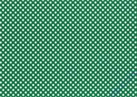 Vario-Karton 300g/qm 50x70cm Weiß/Grün Punkte (Umstellung Lieferant)