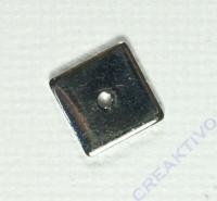 Pracht Metallzwischenteil platin 8x8mm