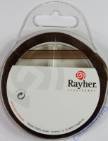 Rayher Organzaband 7mm 10m braun