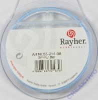 Rayher Organzaband 3mm 10m hellblau