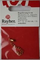 Rayher Regulierung mit Klöppel 6cm gold