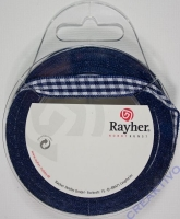 Rayher Karoband 9,5mm dunkelblau