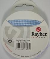 Rayher Karoband 9,5mm hellblau