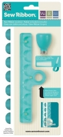 Sew Ribbon Punch & Stencil Set-Scallop