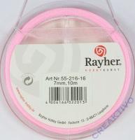 Rayher Organzaband 7mm 10m rosé
