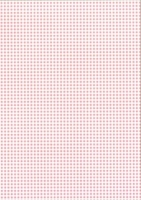 Bastelkarton Happy Papers Karos DIN A4 rosa