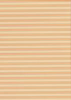 Streifen-Fotokarton DIN A4 orange