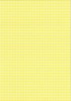 Karo-Fotokarton DIN A4 gelb