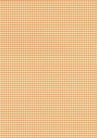 Karo-Fotokarton DIN A4 orange