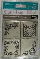 Cuttlebug Stanzformen Ornamente 4 Stück
