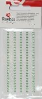 Rayher Plastik-Strassteine 3mm selbstklebend hellgrün 120St