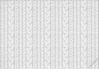 Motiv-Fotokarton 300g/qm 49,5x68cm Strickmuster creme
