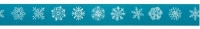 Rayher Washi Tape Schneeflocken (Restbestand)