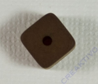 Polaris-Würfel 8mm matt braun