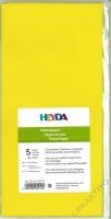 Seidenpapier 50x70 cm gelb 5 Blatt