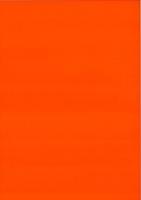 Fensterfolie transparent, adhäsiv 50x70 cm orange (Restbestand)