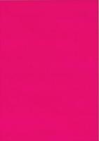 Fensterfolie transparent, adhäsiv 50x70 cm pink (Restbestand)