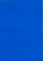 Fensterfolie transparent, adhäsiv 50x70 cm ozeanblau (Restbestand)