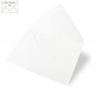 Kuvert C6 156x110mm 90g weiß