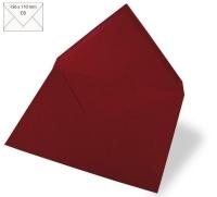 Kuvert C6 156x110mm 90g bordeaux