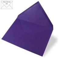 Kuvert C6 156x110mm 90g violett