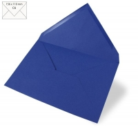 Kuvert C6 156x110mm 90g royalblau