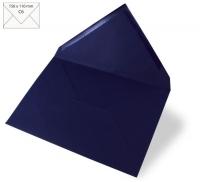 Kuvert C6 156x110mm 90g nachtblau