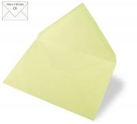 Kuvert C6 156x110mm 90g pastellgrün