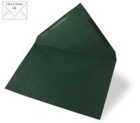 Kuvert C6 156x110mm 90g piniengrün