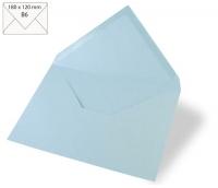 Kuvert B6 180x120mm 90g babyblau