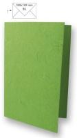 Karte B6 232x168mm 150g Japanseide grasgrün (Restbestand)