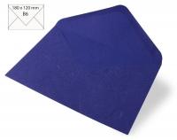 Kuvert B6 180x120mm 80g Japanseide royalblau (Restbestand)