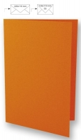 Karte A4 210x297mm 220g orange (Restbestand)