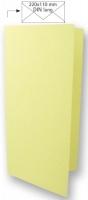 Karte DIN lang 210x210mm 220g pastellgrün