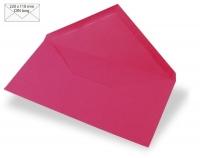 Kuvert DIN lang 220x110mm 90g pink